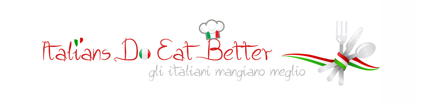 ITALIANS DO EAT BETTER